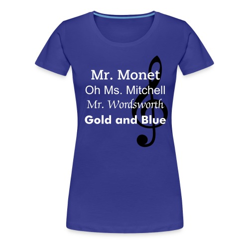 Holly Kirby Music Women's Fitted T-Shirt :) - Women's Premium T-Shirt