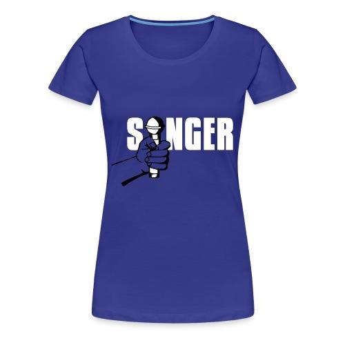T-shirt Singer - T-shirt Premium Femme