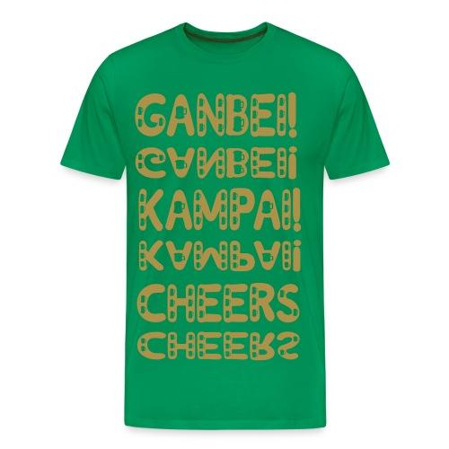 TCHIN CHEERS t-shirt - T-shirt Premium Homme