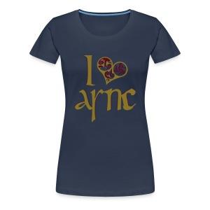 I Love ASNC Women's Shirt - Women's Premium T-Shirt