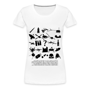 Space Guess Who Women's T-Shirt - Women's Premium T-Shirt