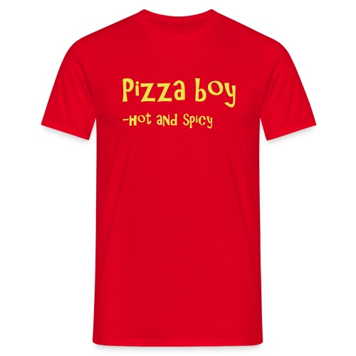 Pizza boy! - T-skjorte for menn
