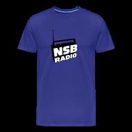 T-Shirts ~ Men's Premium T-Shirt ~ NSB Classic on Sky Blue T