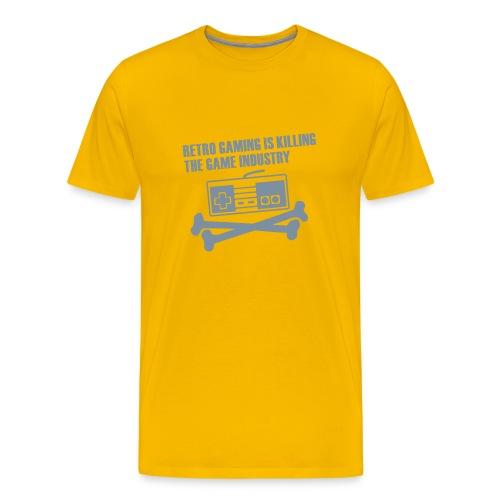RETRO GAMING - Men's Premium T-Shirt