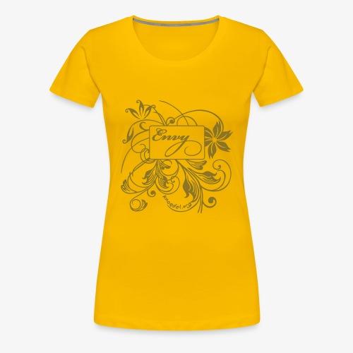 ENVY-Girlie-Gold - Frauen Premium T-Shirt