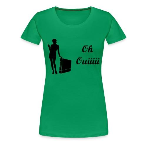 T Shirt Femme Oh Ouiii couleur au choix - T-shirt Premium Femme