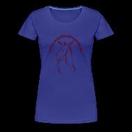 T-Shirts ~ Frauen Premium T-Shirt ~ Frauen Girlieshirt klassisch Maultierfreunde