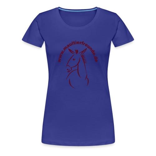 Frauen Girlieshirt klassisch Maultierfreunde - Frauen Premium T-Shirt