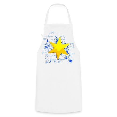 Gelber Stern  - Kochschürze