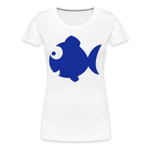 naisten t-paita viiva - Naisten premium t-paita