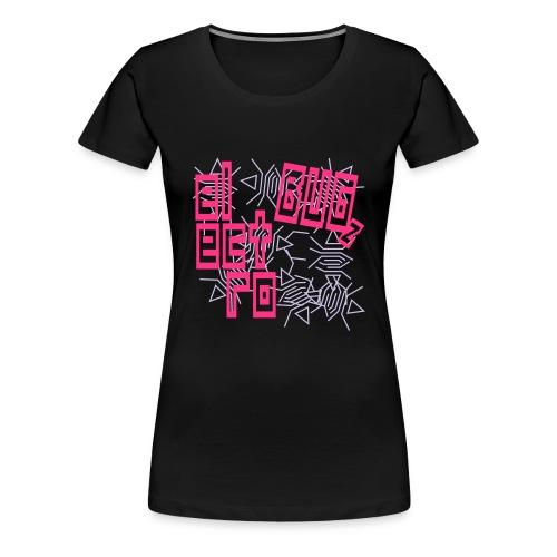 Schwarz electro bugz v1 (© alteerian) T-Shirts - Frauen Premium T-Shirt