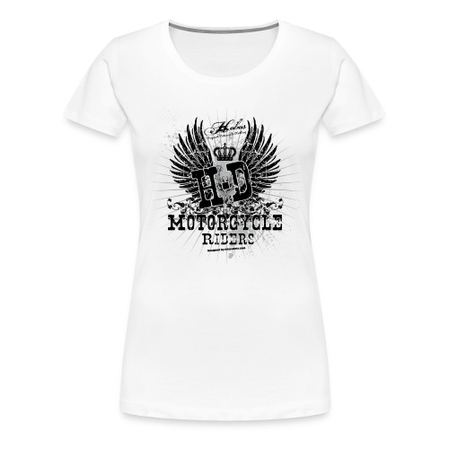 HD riders| T-shirts  biker - T-shirt Premium Femme