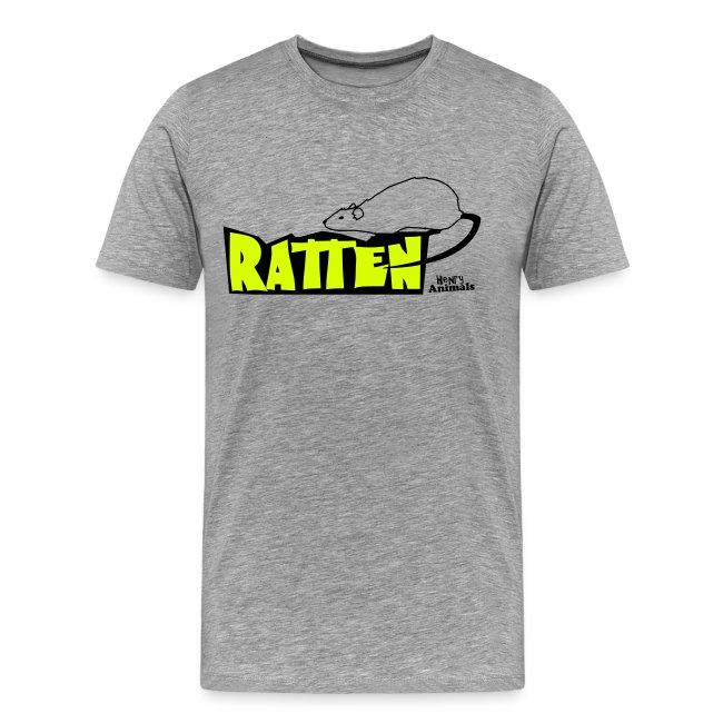 Basisshirt weiß mit Ratte