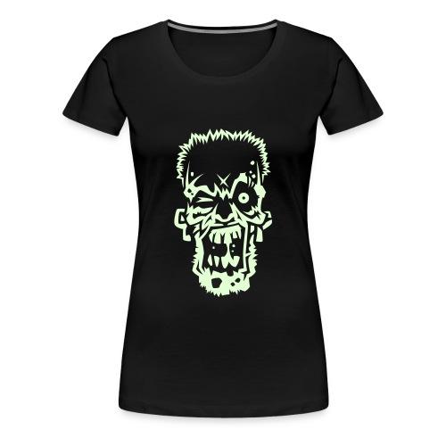 Zombie (Fluorescente) - Camiseta premium mujer