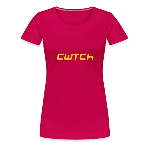 cwtch - cryst - Women's Premium T-Shirt