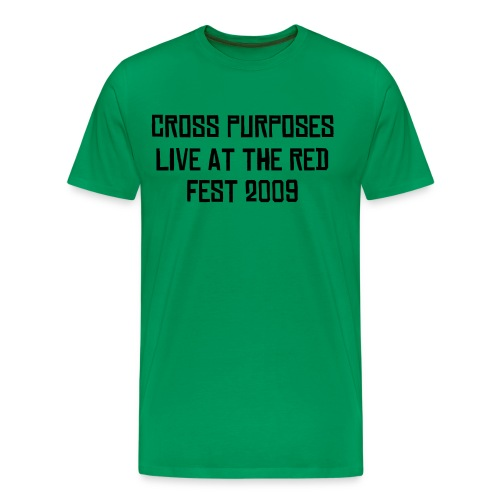 CROSS PURPOSES RED FEST T - Men's Premium T-Shirt
