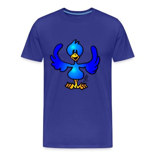 bird - Premium-T-shirt herr
