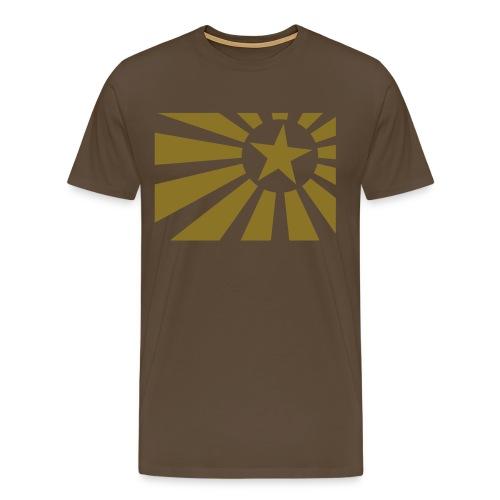 Revolution Star Basis T  - Männer Premium T-Shirt