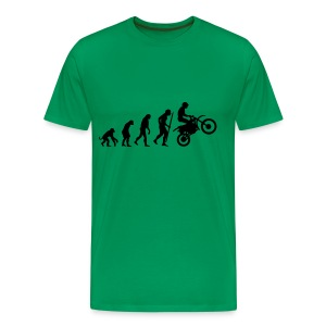 motor evolution - Mannen Premium T-shirt
