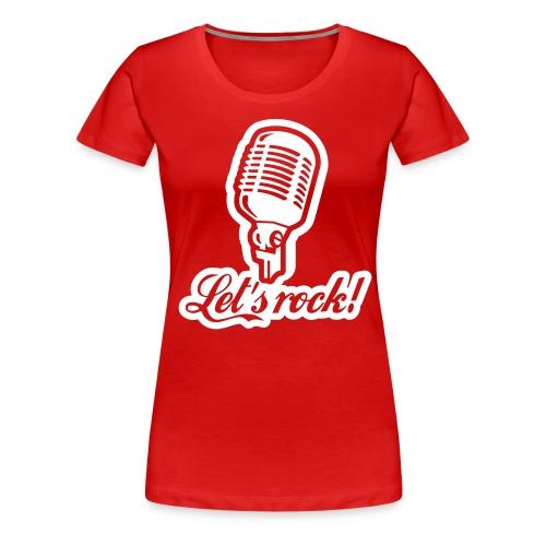 Womans shirt!! zomg! - Women's Premium T-Shirt