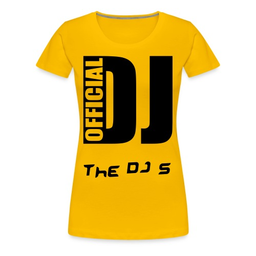 The DJ girlshirt - Dame premium T-shirt