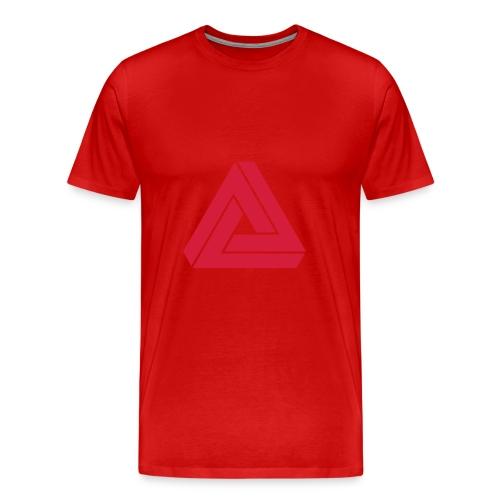 MAD single colour (green) - Men's Premium T-Shirt