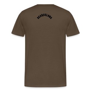B.2005 in brown - Men's Premium T-Shirt