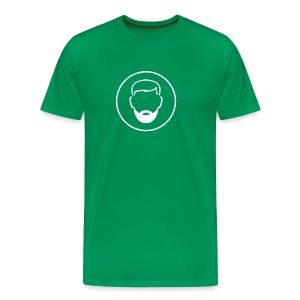B.2004 in green - Men's Premium T-Shirt