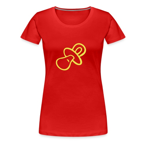 Tshirt Baby (voir VERSO) - T-shirt Premium Femme
