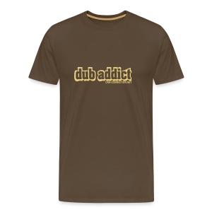 T-shirt classic dub addict - Men's Premium T-Shirt