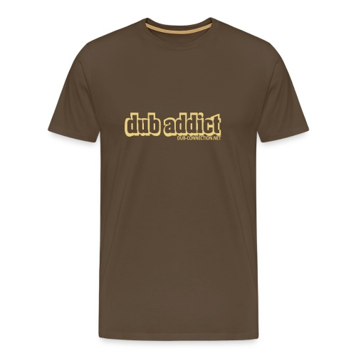 T-shirt classic dub addict - Men's Premium T-Shirt