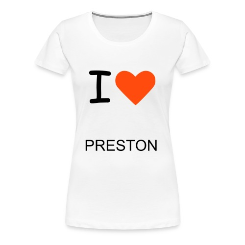 I HEART PRESTON - Women's Premium T-Shirt