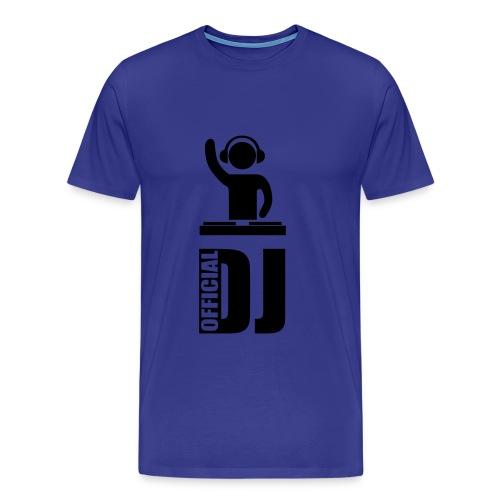 Official DJ - T-shirt Premium Homme