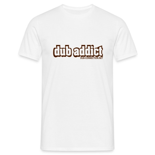 T-shirt classic dub addict - Men's T-Shirt