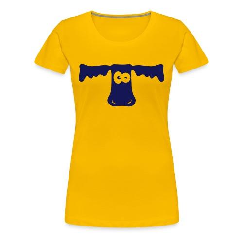 Funny eye - Vrouwen Premium T-shirt
