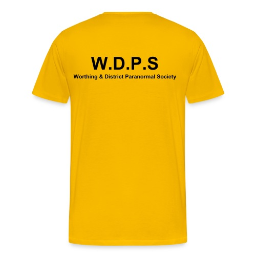 W.D.P.S T-Shirt Yellow - Men's Premium T-Shirt