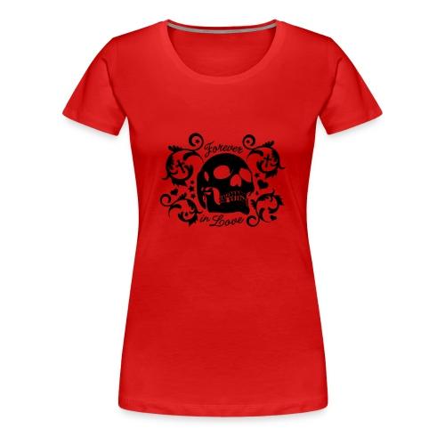 Forever in love (black) - Women's Premium T-Shirt
