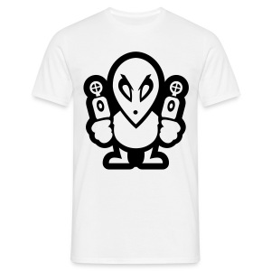 Mr. Alien - Männer Basis-T-Shirt - Männer T-Shirt