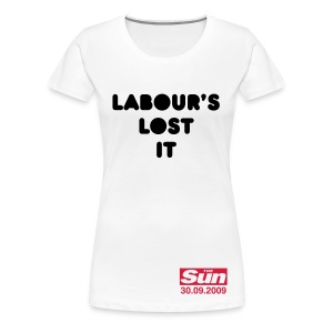 Labour's Lost It - Women's Premium T-Shirt