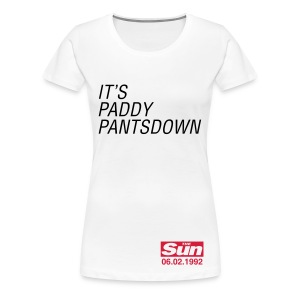 It's Paddy Pantsdown - Women's Premium T-Shirt