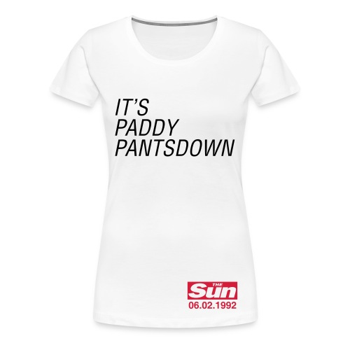 It's Paddy Pantsdown - Women's Premium T-Shirt