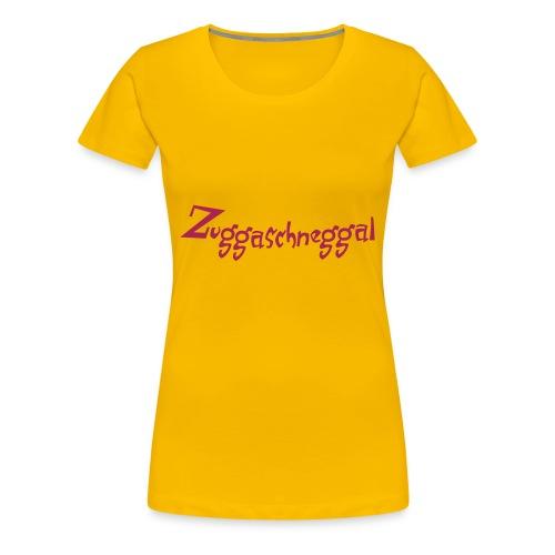 Bayrische Zuckerschnecke - Frauen Premium T-Shirt