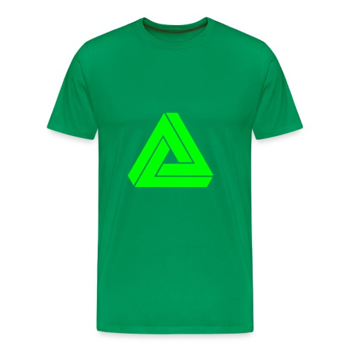 MAD single colour (green) - Men's Premium T-Shirt