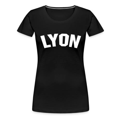 lyon - noir - T-shirt Premium Femme