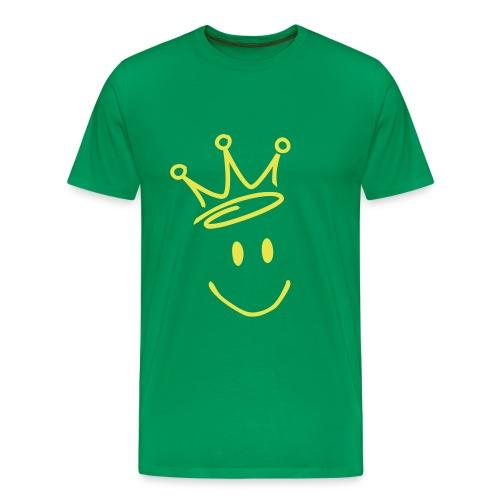 Smile! - Premium T-skjorte for menn