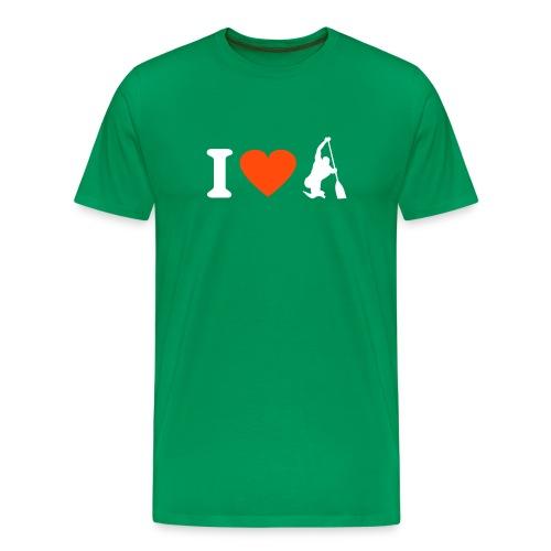 Love canoe - Camiseta premium hombre