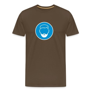 B.2004 in brown - Men's Premium T-Shirt