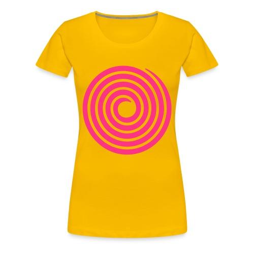 The Swirlanator 3000 - Women's Premium T-Shirt
