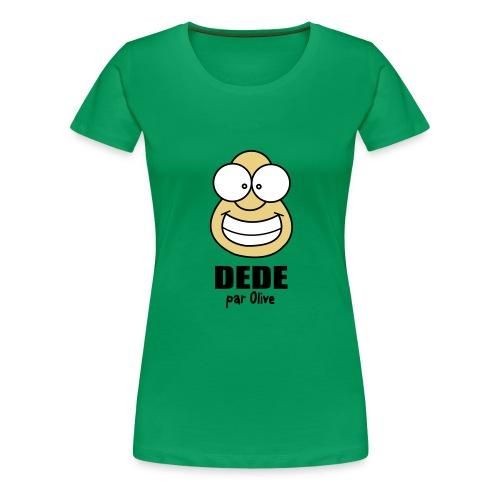 TShirt Femme - Vert - T-shirt Premium Femme