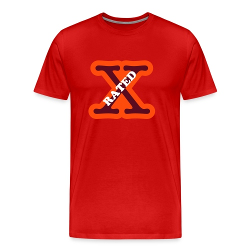 IWF Rated X T Shirt - Men's Premium T-Shirt